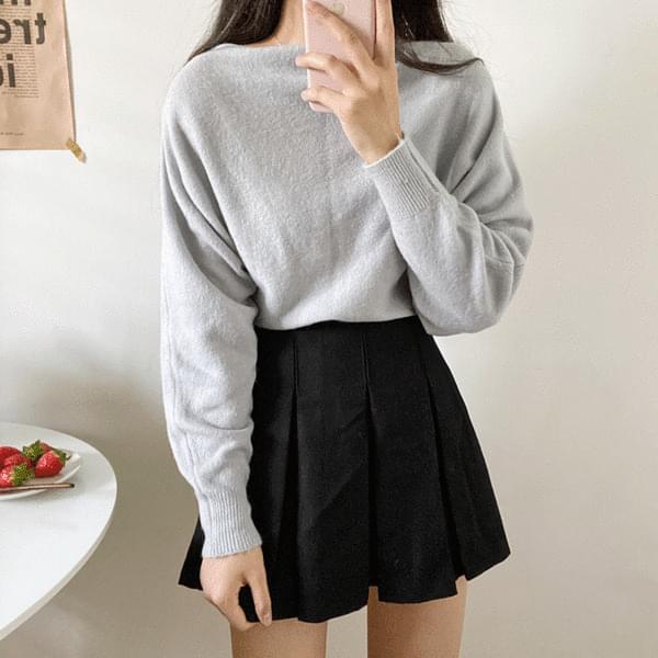 Ricke pleated mini skirt