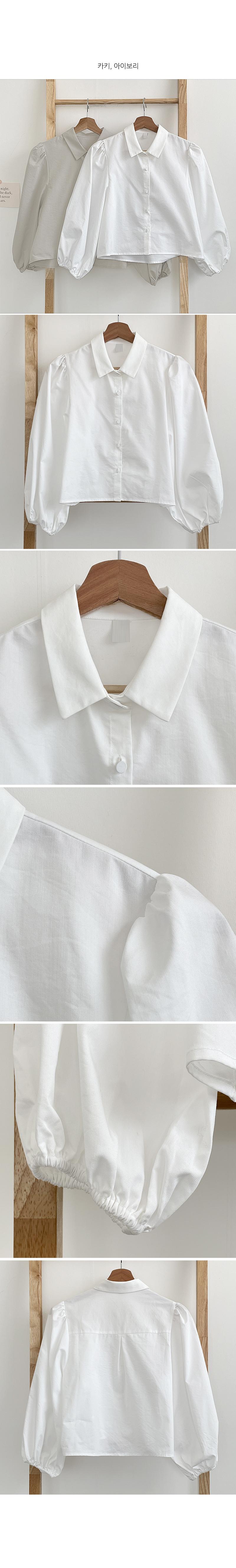 Tiny balloon blouse