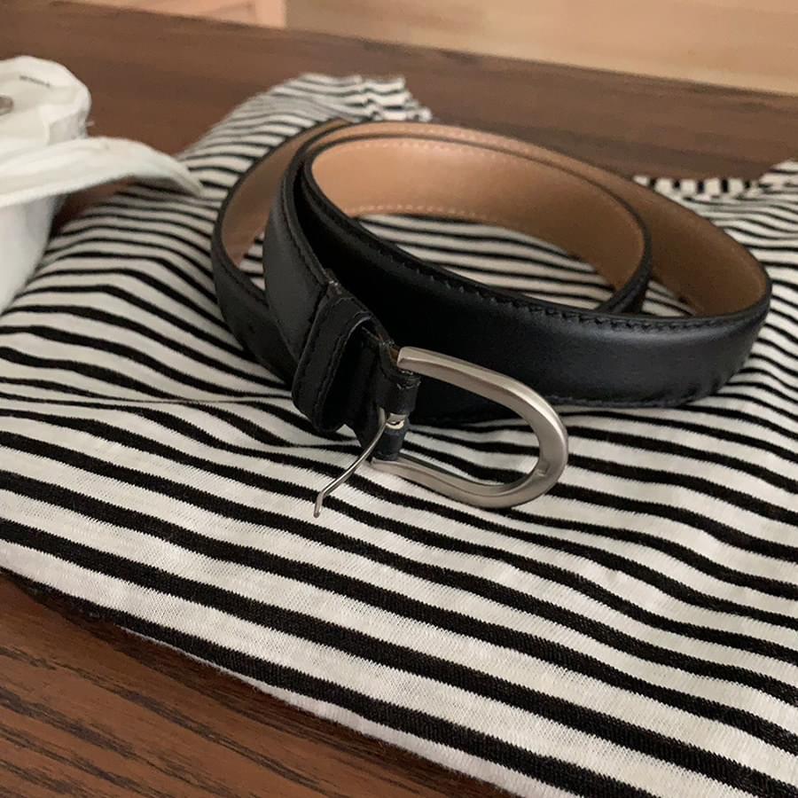 Modern Round Belt