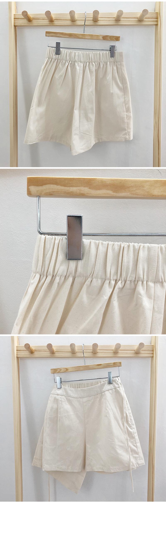 Wrap pocket skirt