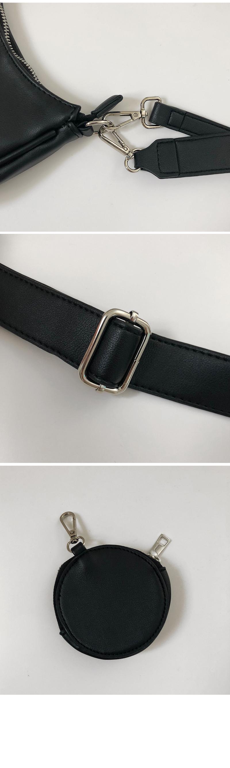Cross mini hobo bag