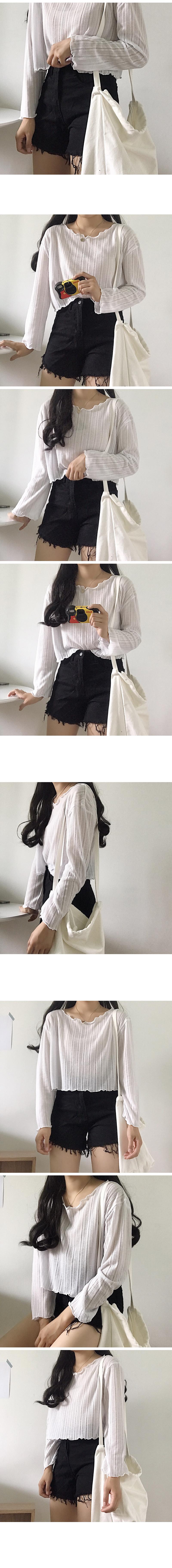 Frill Round Summer Knitwear