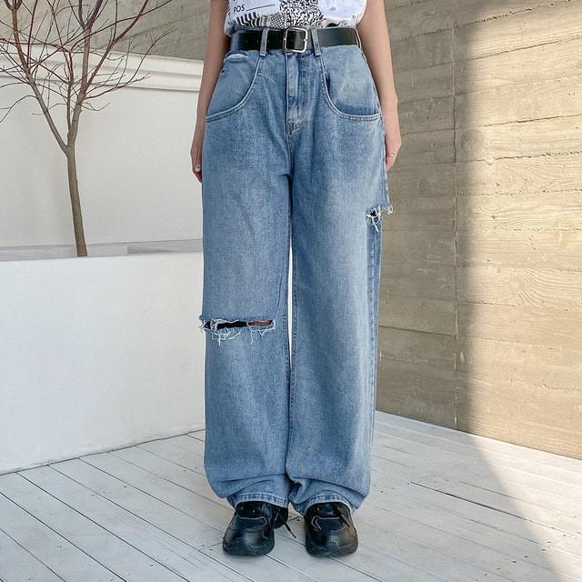Cello Vintage Wide Denim Pants