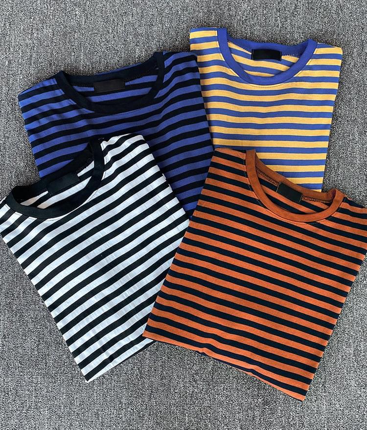 Striped Longline T-Shirt