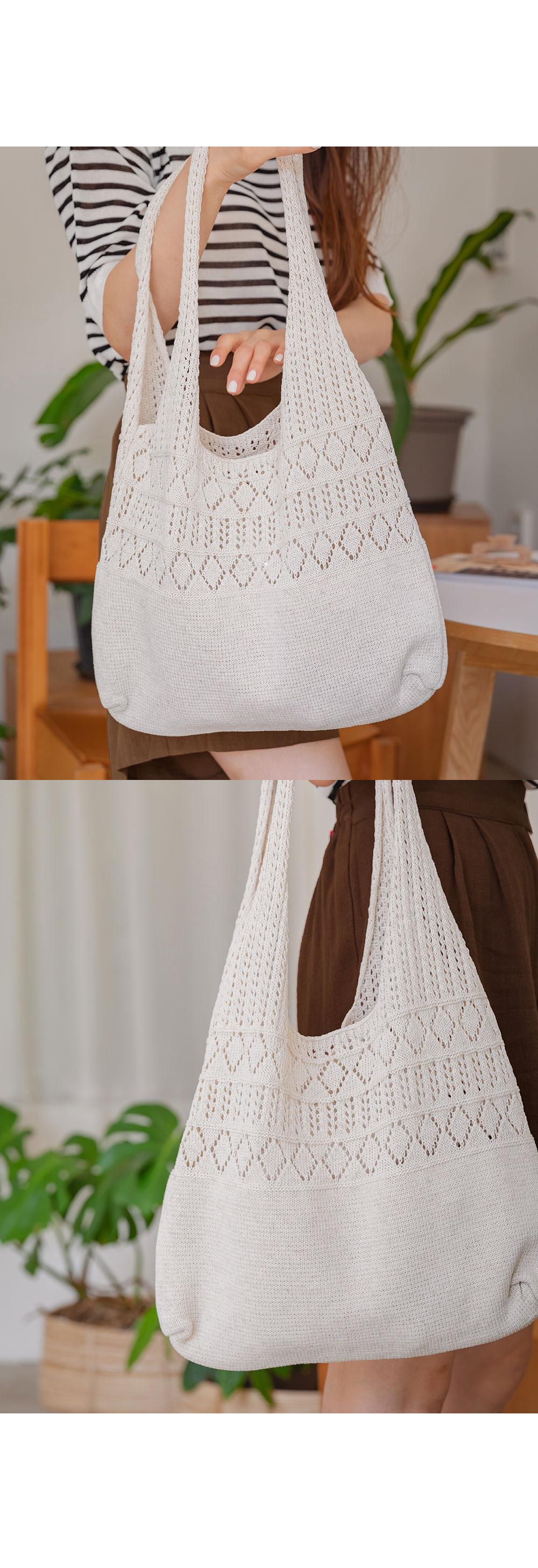 Organic Net Knitwear Bag