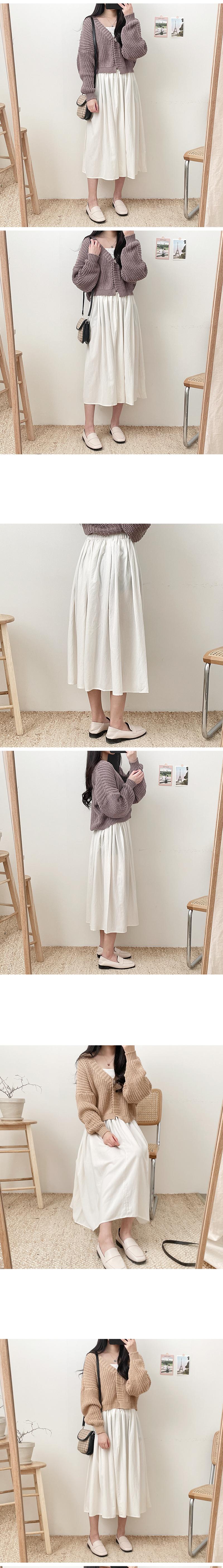 Marsh Flare Long Skirt