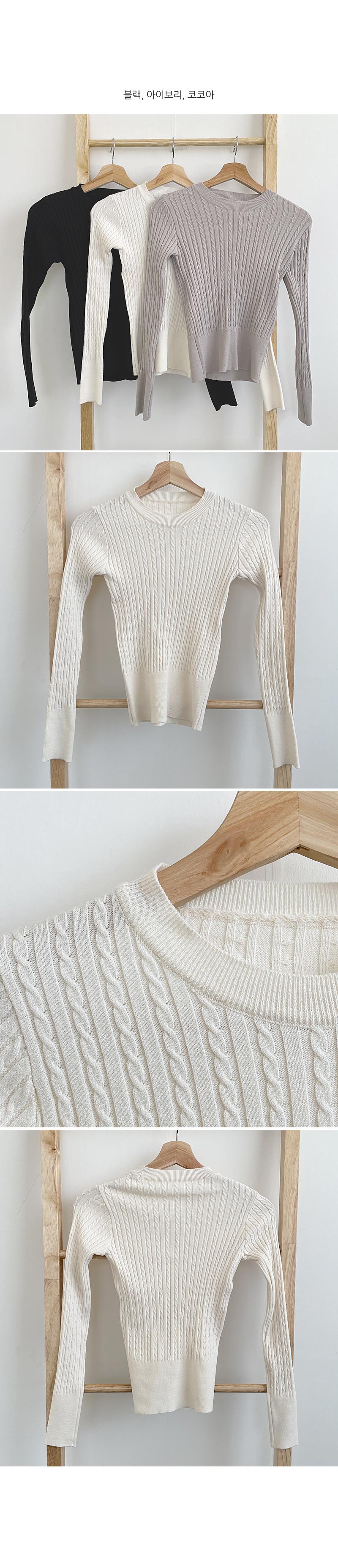 Monty Twisted Knitwear