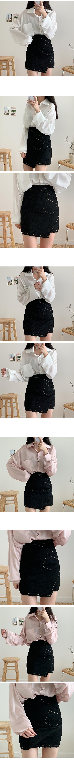 Unfoot Stitched Skirt