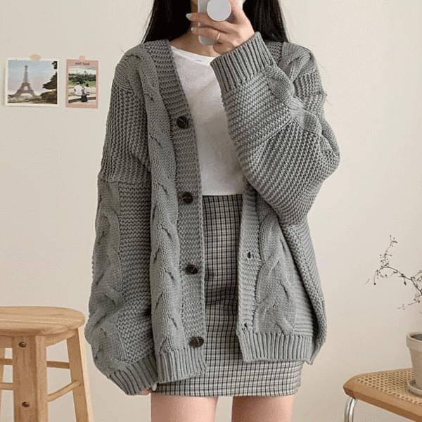Cozy Twisted cardigan