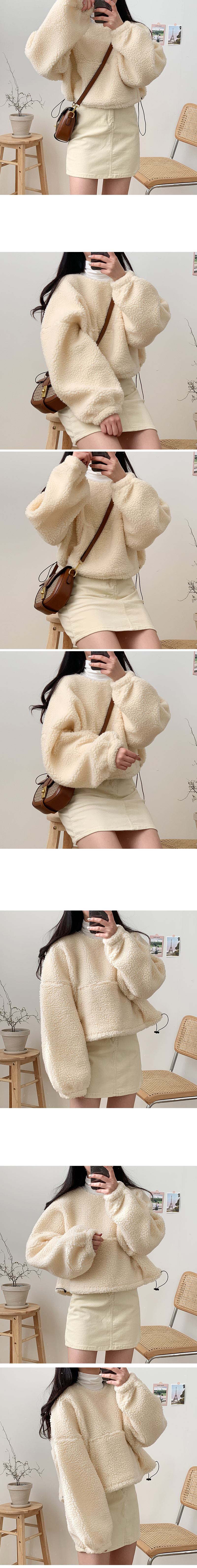 Fleece string Sweatshirt