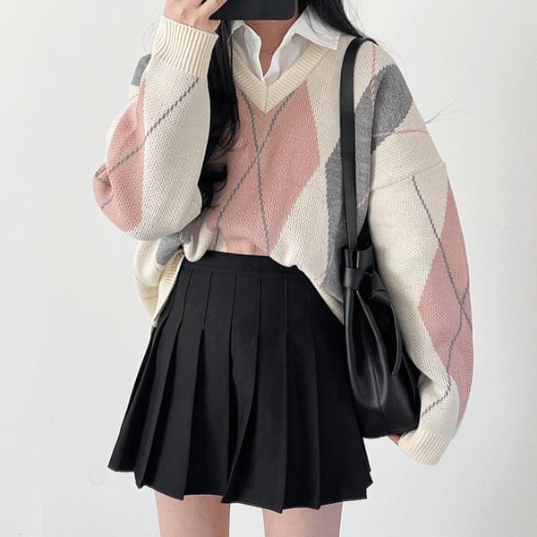 Teen Argyle Knitwear