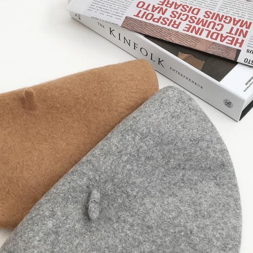 Basic wool beret