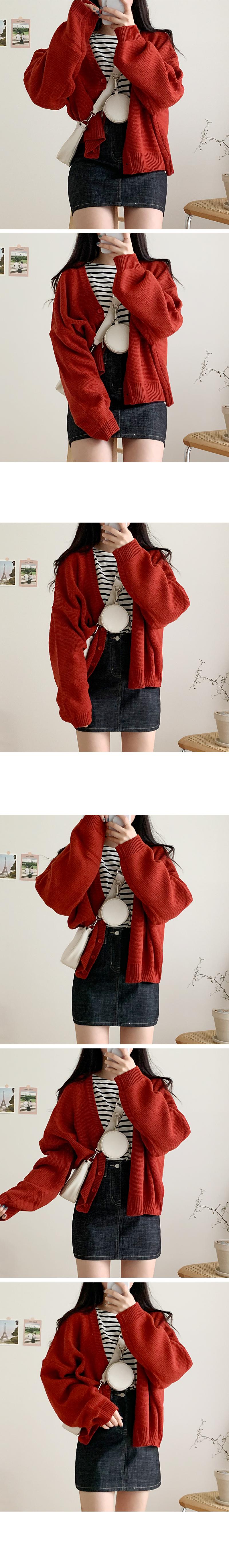 Raw mini skirt