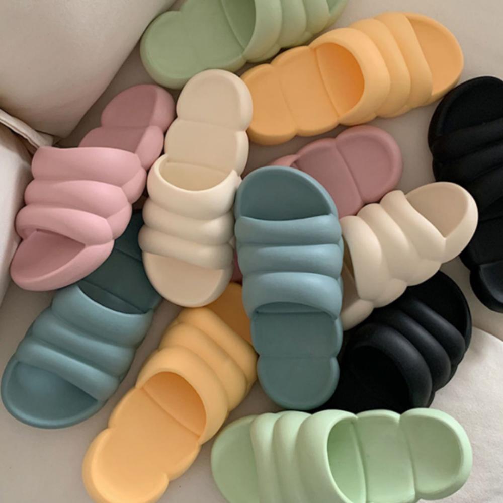 Pastel Cloud Slippers 6color S#JI068