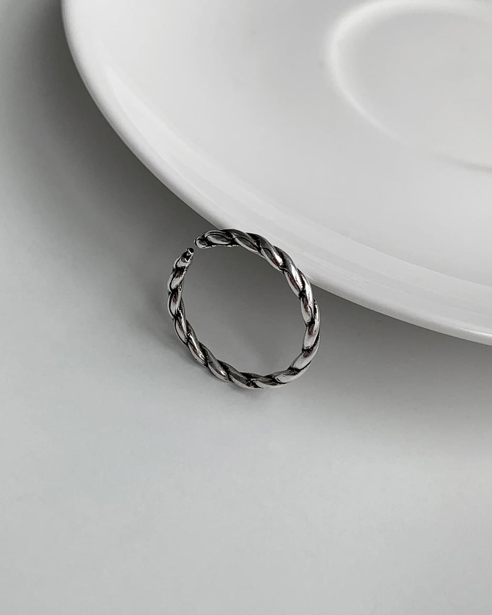 Luca Kink Vintage Antique Silver Ring