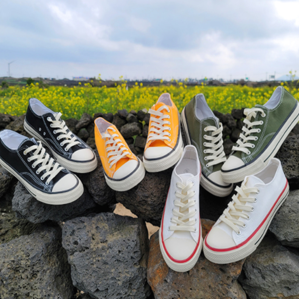 Basic Canvas Sneakers S#JI060