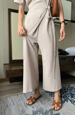 Edisha wrap jumpsuit