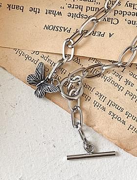 Antique Butterfly Bracelet