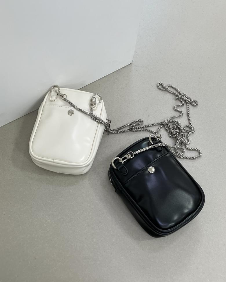 Chain square crossbody bag
