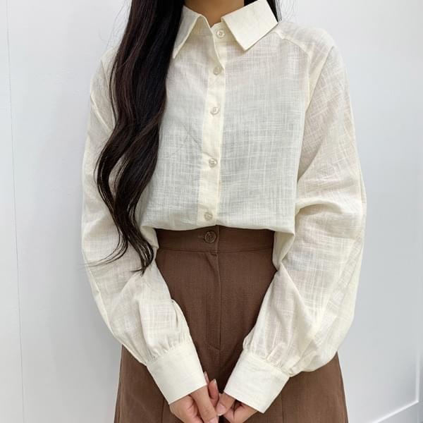 Volume Nagrang Crop shirt