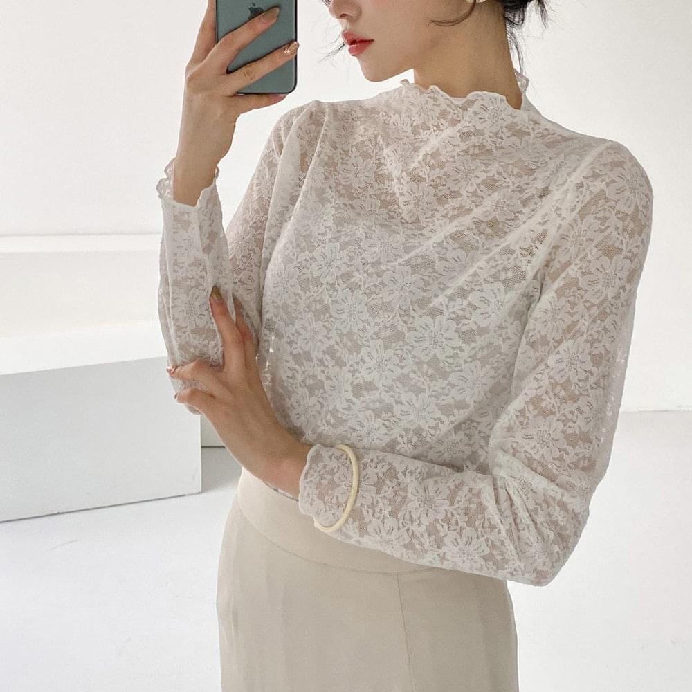 Yeori lace blouse