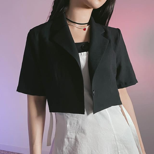 Single Rayu cropped jacket