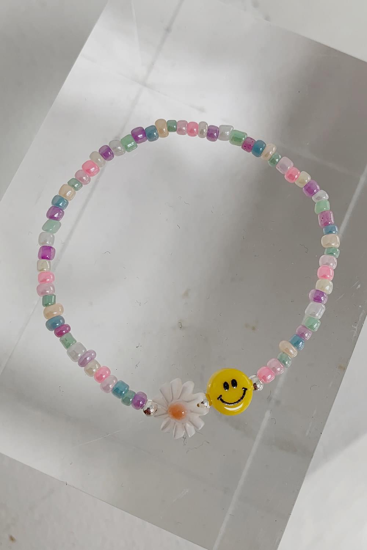 Silver Smile Bracelet