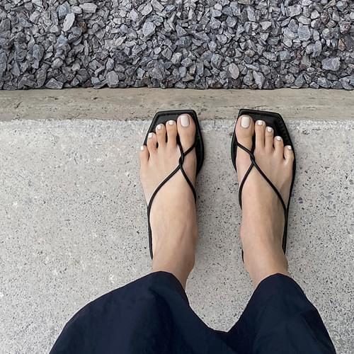 Naples flip flops