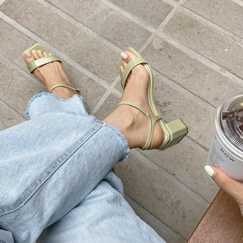 Kercy Mary Jane sandal heel