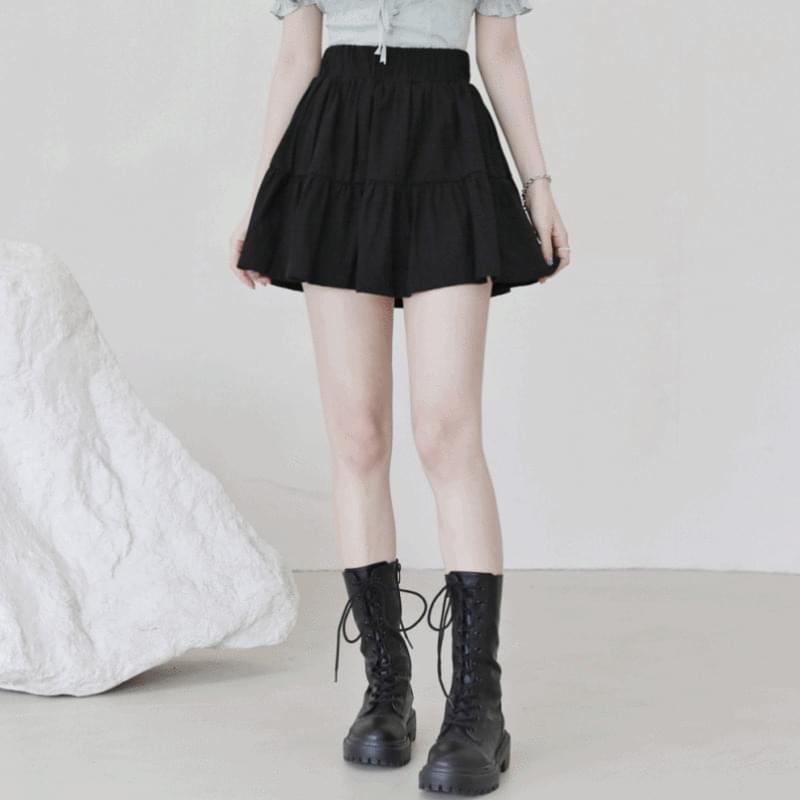 Natasha frill mini skirt