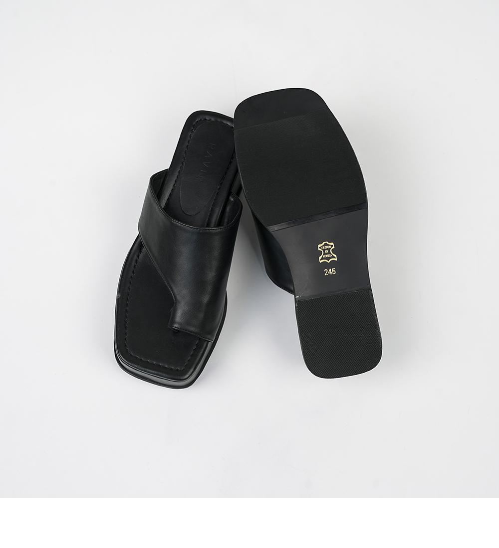 Ness platform squat slippers