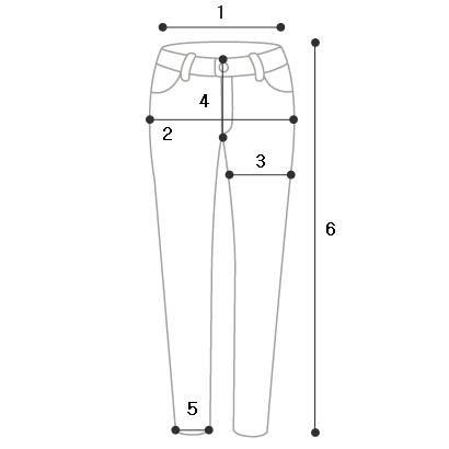 sl4738 muddle straight slacks