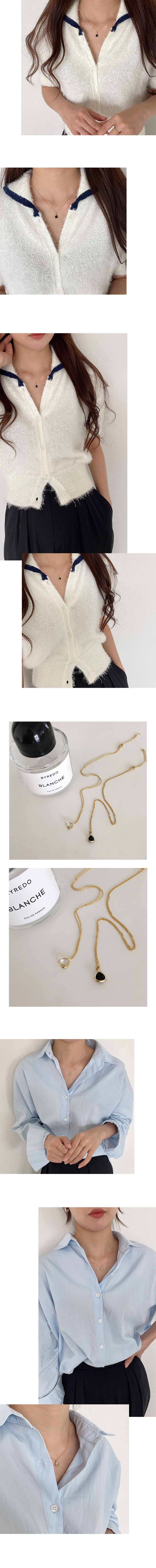triangle cubic necklace