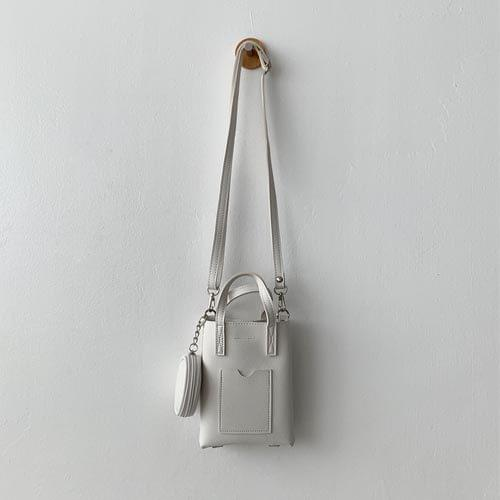 Fold mini crossbody bag