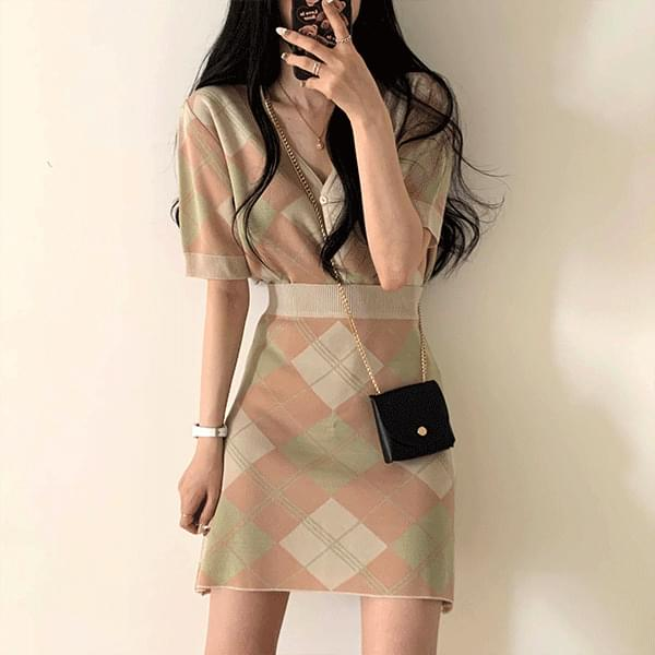 Argyle Two Piece (only skirt)