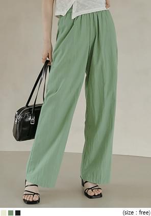Assorted Pocket Wide Pants