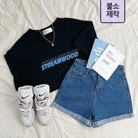 Streamwood Lettering Short Sleeve Tee