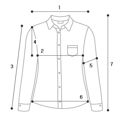 Aid half shirring blouse