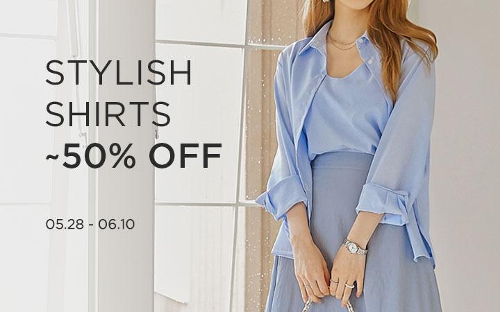 Stylish Shirts ~50% OFF