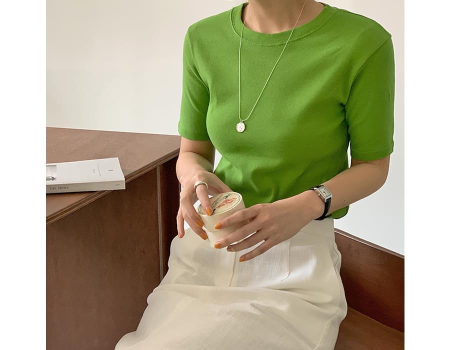 Chewing Mini Short-sleeved T-shirt