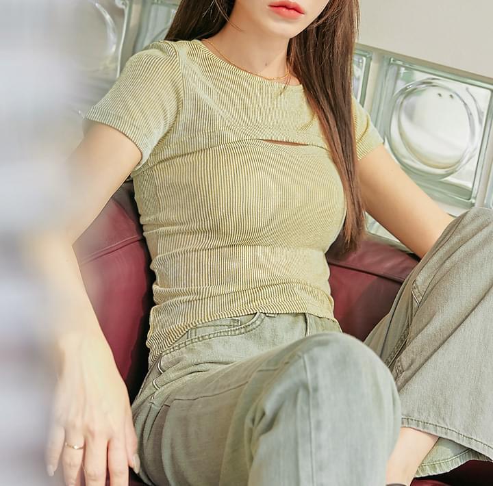 Cami Top and Crop T-Shirt Set