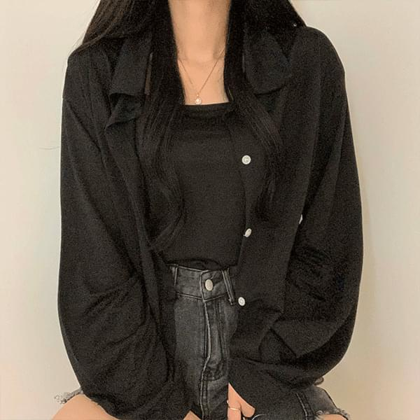 Charlene Summer Shirt, Sleeveless Set