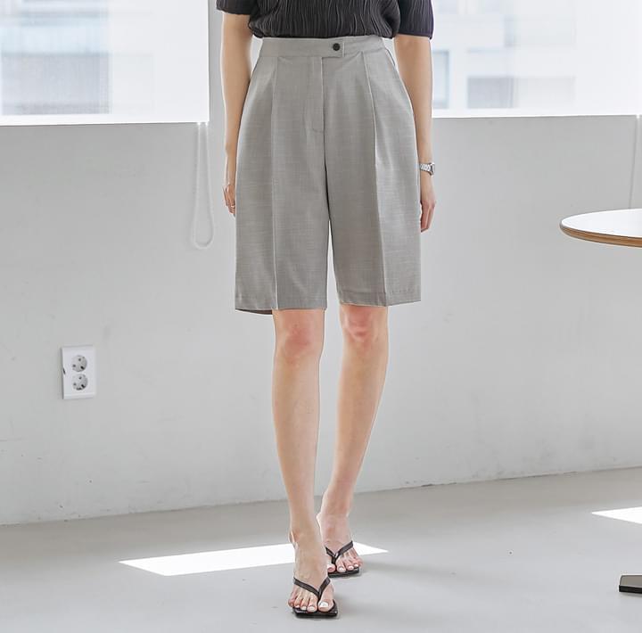 Straight Knee-Length Shorts