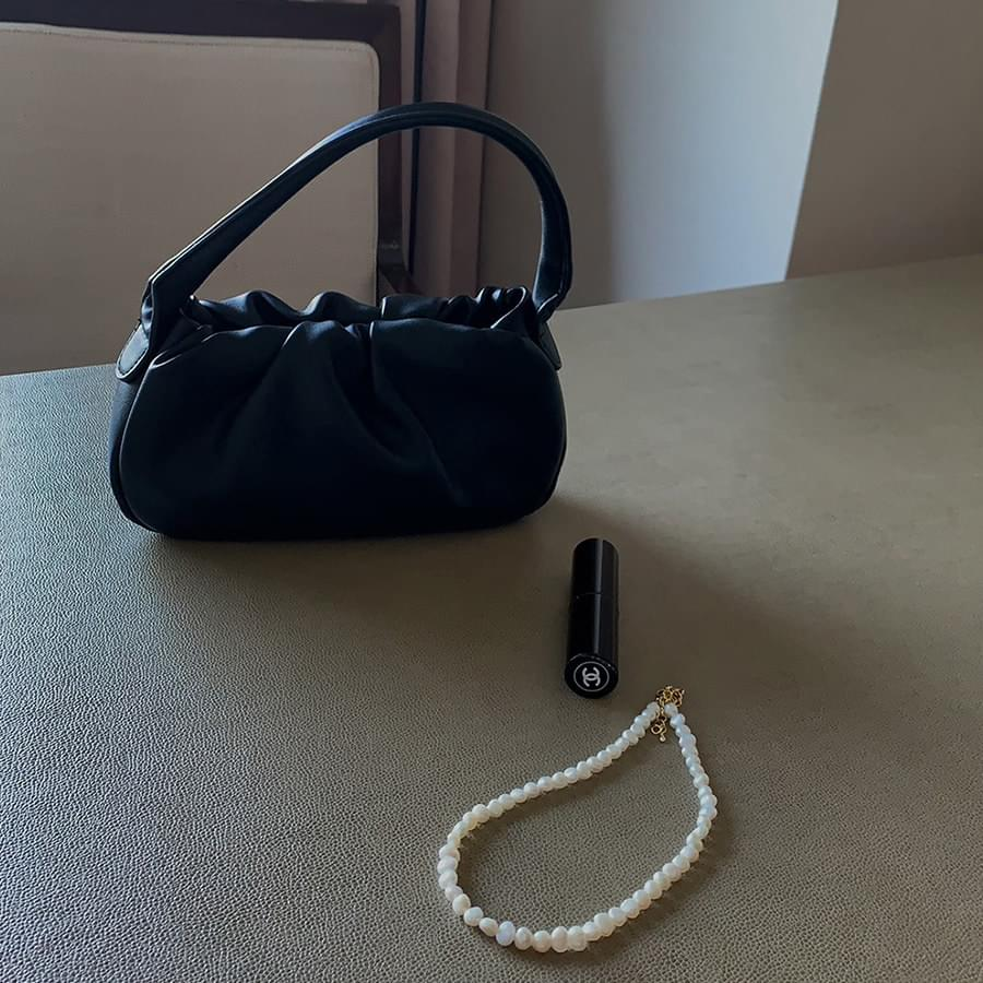 Marron mini bag