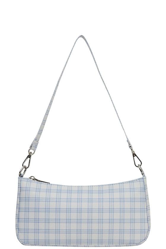 Bohemian Check Two-Way Shoulder Bag