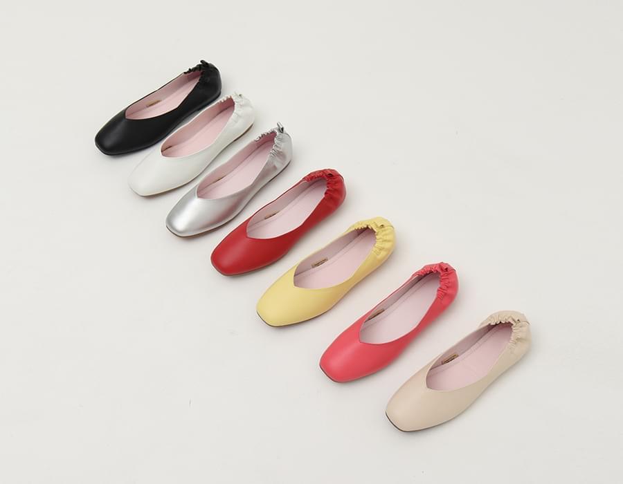 Back banding flat shoes_S