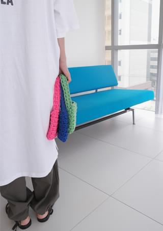 petit color knitting bag