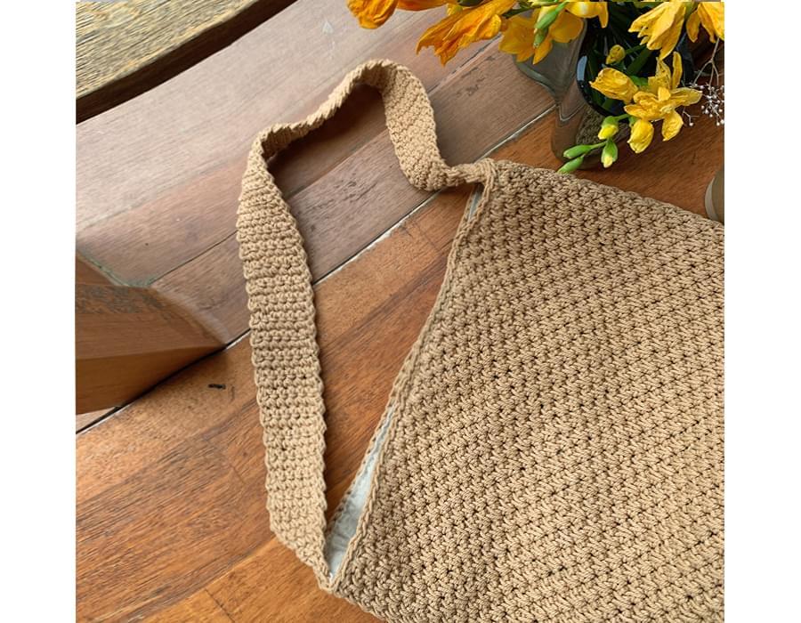 Bold Waffle Knitwear Shoulder Bag 肩背包