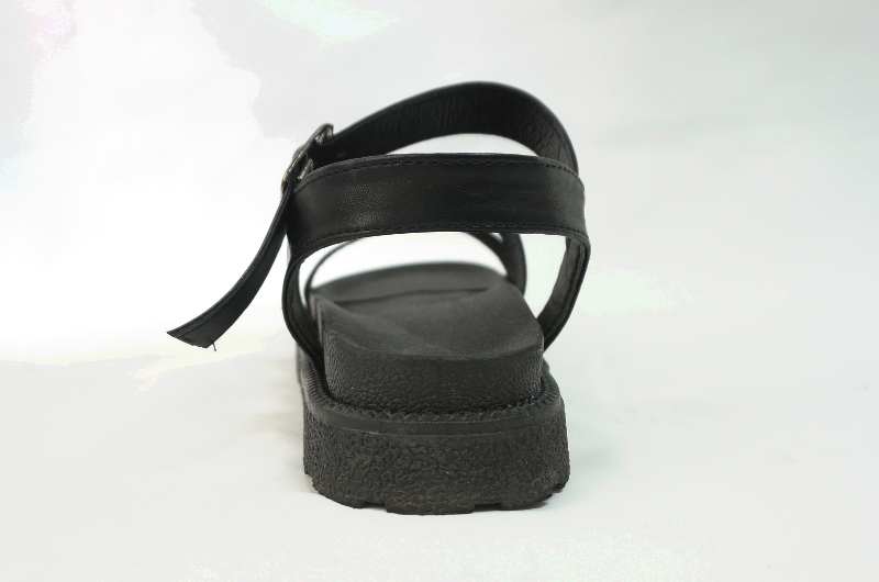 chic buckle sandals