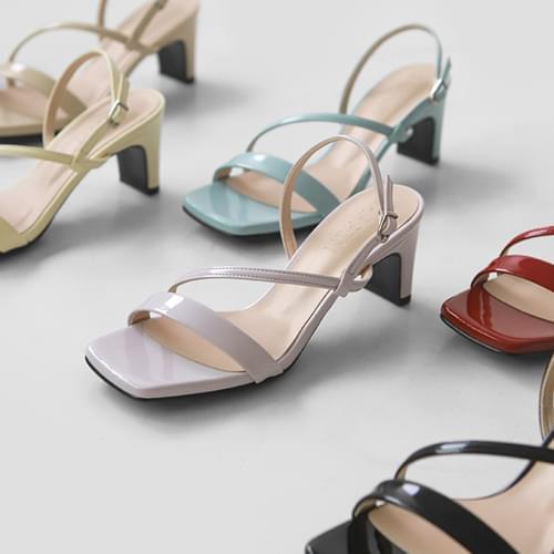 acelli strap sandal heels